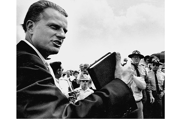Billy Graham Laid To Rest At Funeral Attended By Trump, Prominent Evangelicals