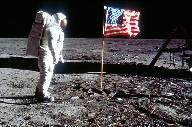 Colonel Buzz Aldrin, born Edwin Eugene Aldin Jr., was the Lunar Module Pilot on Apollo 11, the first, manned mission to land on the moon.