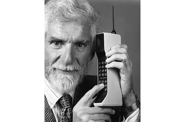 Martin Cooper cell phone