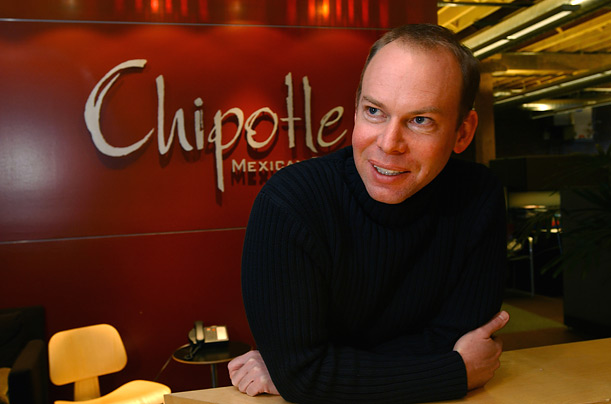 Steve Ells, 41, opened the first Chipotle restaurant in 1993. There are now 500 of them throughout the United States.