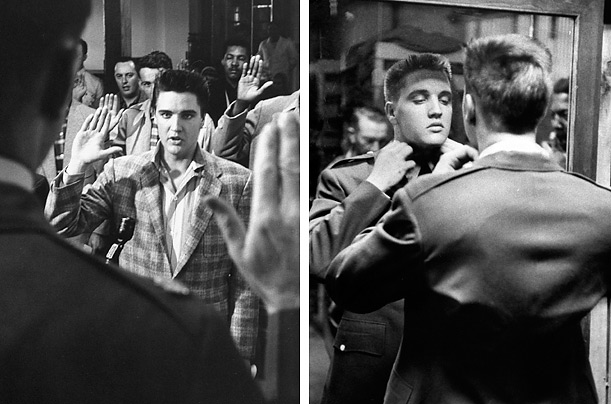 photo essay elvis presley Along with his snarling baritone and swiveling hips, elvis presley apparently was known for his gunslinging the story goes that as he watched singer.
