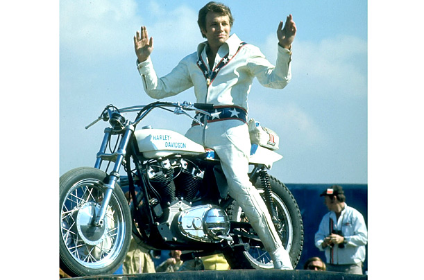 Evel Knievel Stuntman Motorcycle Daredevil