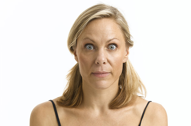 Exercising your face muscles tightens, tones and, according to practitioners, combats aging yoga