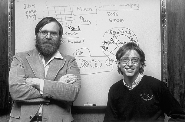 Bill Gates Microsoft Paul Allen