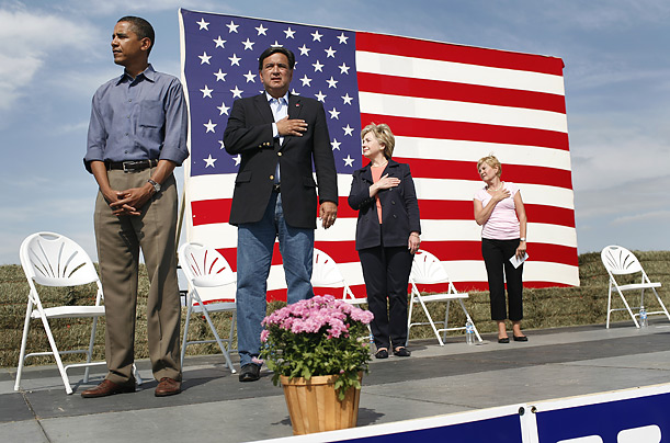 Obama Snubs National Anthem
