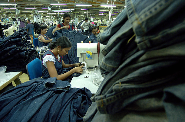 The jeans industry provides jobs for nearly one million people in Sri Lanka. The country exports 3 billion dollars' worths of denim products to the United States each year.