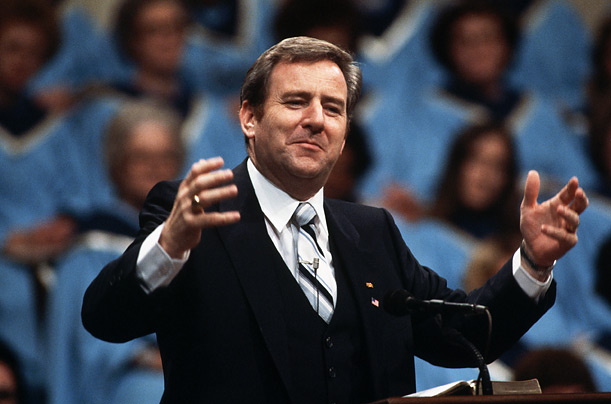 Jerry Falwell evangelist church religious right