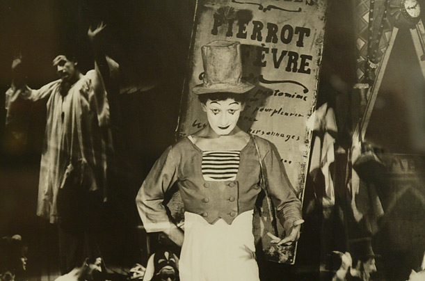 Marcel Marceau Mime French Artist Stage Theater