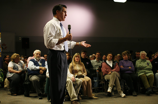 Mitt Romney Republican Presidential Candidate Massachusetts Governor 