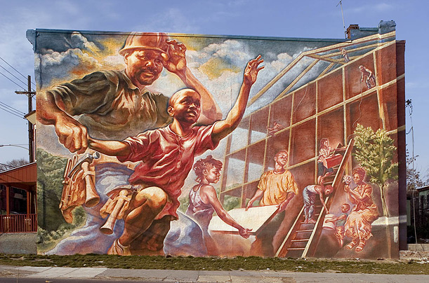 Philadelphia mural capital of the world artistically for Art of mural painting