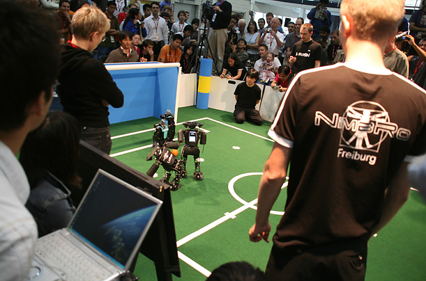 Robocup soccer