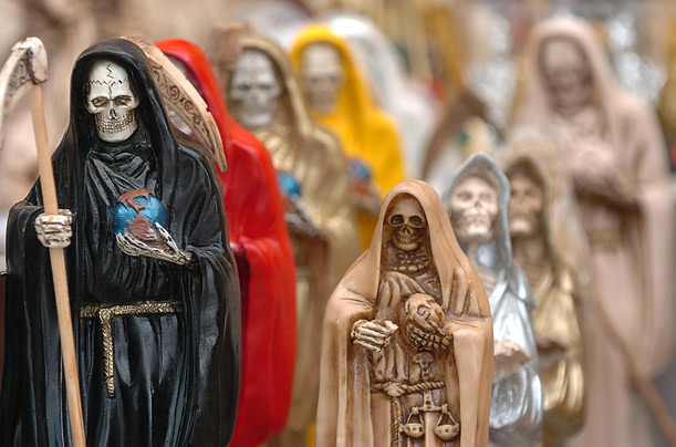Though not officially recognized as a saint by the Catholic Church, Santa Muerte's popularity has spread significantly in the last ten years, especially in crime-ridden communities.