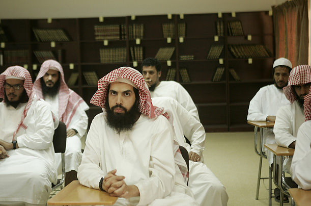 At the Care Rehabilitation Center outside of Riyadh, Saudi Arabia, jihadis are put through a 12-step program that includes psychological counseling, art therapy, sports and lessons in Islam.