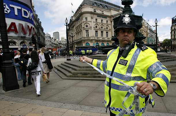 British police defused a bomb found in a parked car on Haymarket Street, near Piccadilly, in central London.