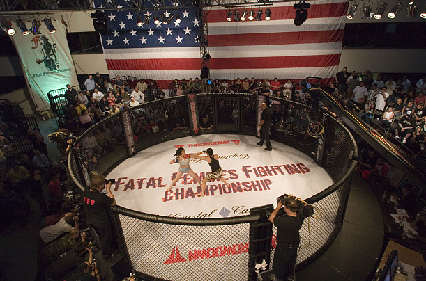 Female Ultimate Fighting Fatal Femmes