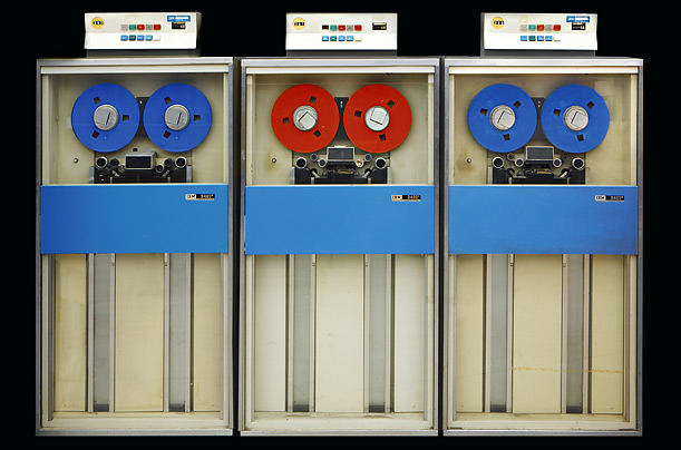 IBM 360 Tape Drives, 1968