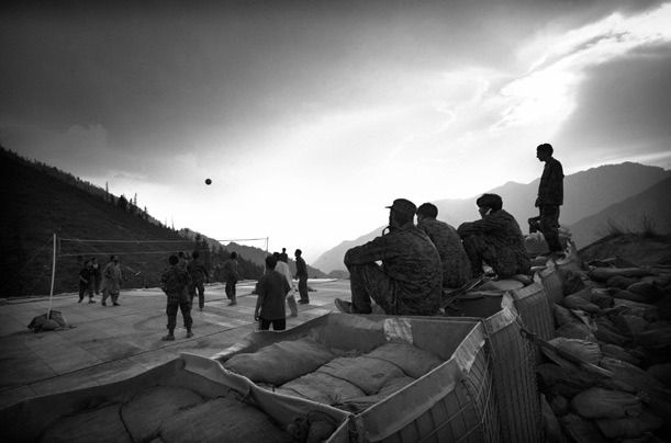 Afghanistan Army Training Black and White Photography Pictures War Taliban Al Queda