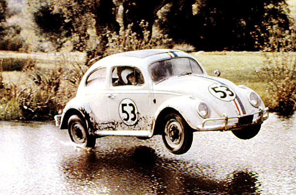 Herbie Top 10 Fictional Cars Time