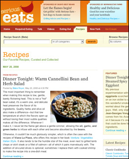 Serious eats 50 best websites 2008 time join foodies for your fill of culinary news discussions recipes and restaurant reviews at serious eats an international food blog to which molto mario forumfinder Image collections