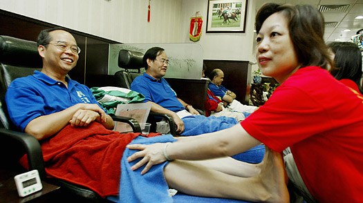 Reflexology, Beijing, China