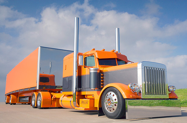 The World of Custom Big Rigs Photographer Roger Snider travels the globe in search of the most tricked-out trucks on the planet