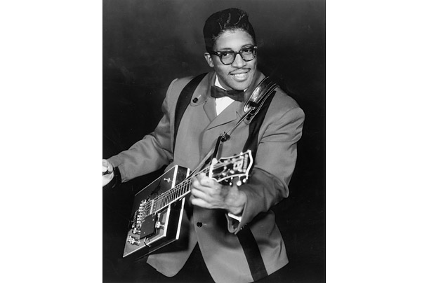 Born in 1928 in McComb, Mississippi, Bo Diddley (birth name Ellas Otha Bates) was one of the key figures in the transformation of straight blues into rock and roll.