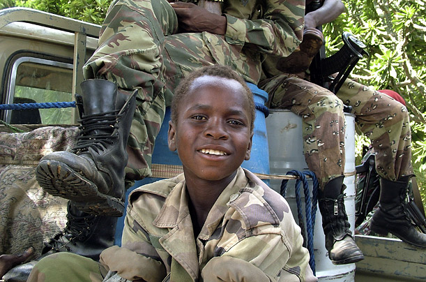 child soldier photo essay