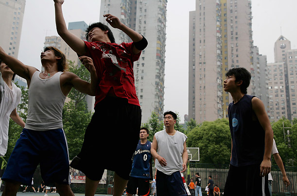 China Basketball Hoops Sports Games