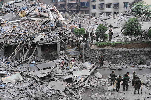 China Digs Out After a massive earthquake strikes the southwest, the Chinese mobilize a massive search and rescue operation sichuan buried