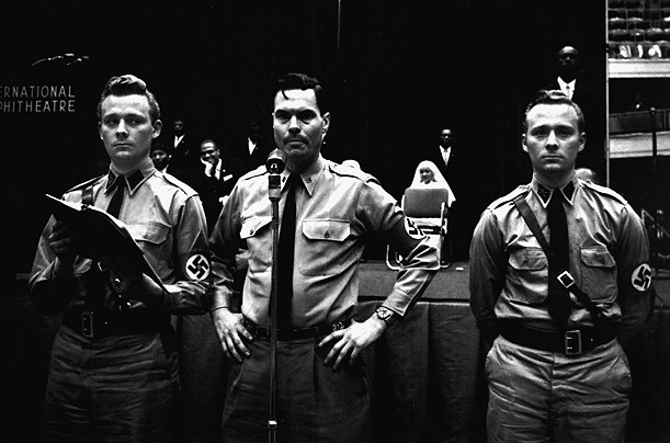 george lincoln rockwell brown captions