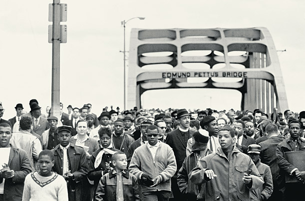 obama and civil rights freedom marchers selma montgomery