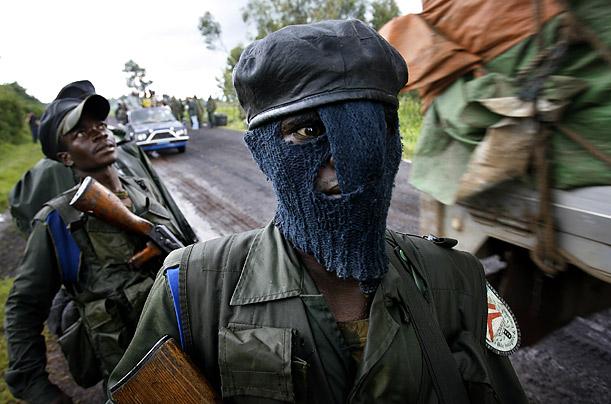 Democratic Republic of Congo DRC War Rebels Government Kabila Kabanga National Congress for the Defense of the People (CNDP) leader Laurent Nkunda