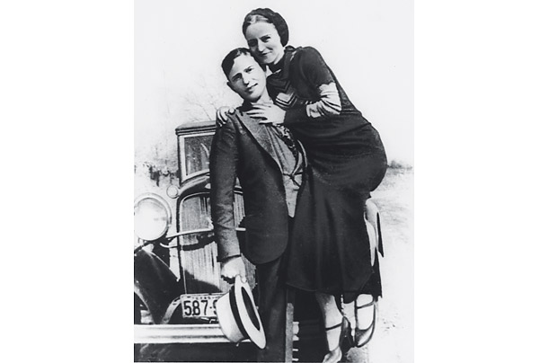 Bonnie and Clyde Newspaper