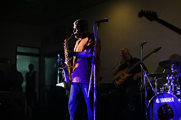 Rock, techno, reggaeton, hip-hop and jazz, like the Ornette Coleman riffs performed by César López, above, playing at a café in Havana, have replaced salsa in many of the island's clubs.