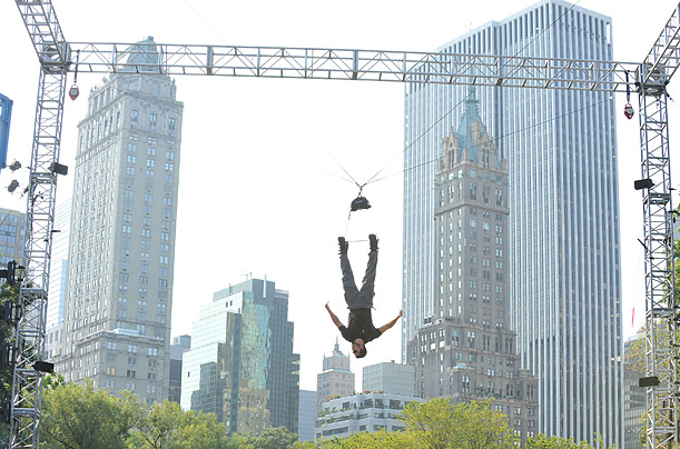 david blaine central park nyc