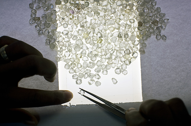 Diamonds Gems Debeers Botswana Africa Industry Mining Precious stones minerals natural resources