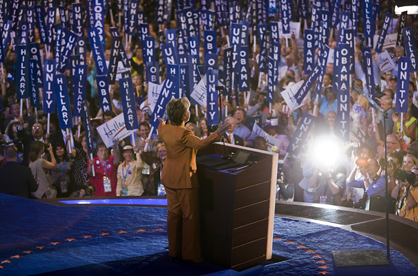 DNC TIME photographer Brooks Kraft Democrats celebration in Denver Democratic National Convention