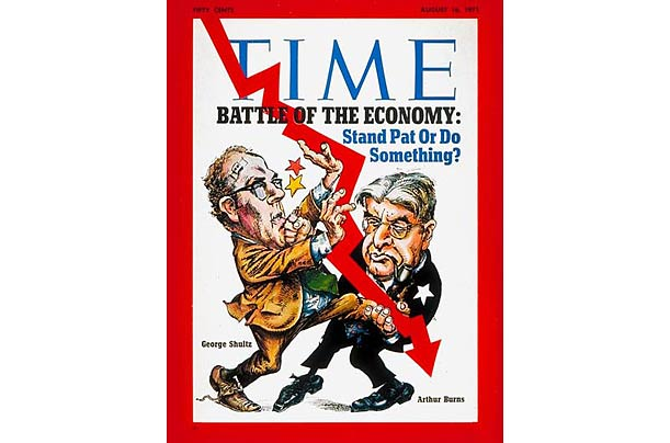1971: Shultz v. Burns: Battle of the Economy