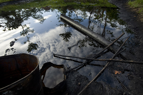 Chevron denies that it contaminated the forest and that there is a link between the drinking water and higher rates of illness.