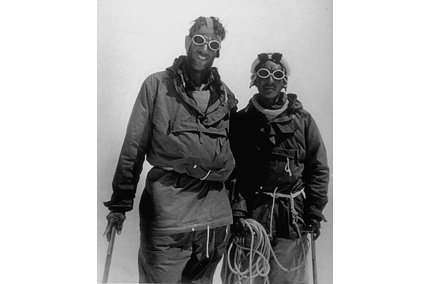 sir edmund hillary first ascent of mount everest photo essays  in 1953 the explorer from and his climbing partner tenzing norgay achieved the