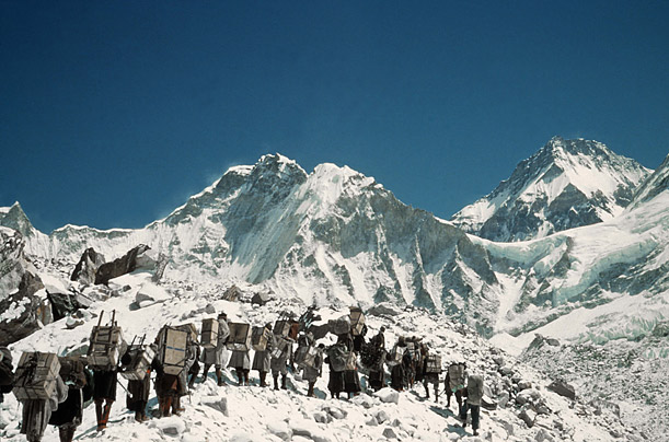 In 1953, the explorer from New Zealand and his climbing partner Tenzing Norgay achieved the impossible by reaching the top of the world's highest peak Sir Edmund Hillary: First Ascent of Mount Everest