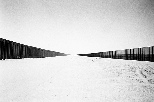 A new double-layered wall and fence near San Luis, Arizona has slowed illegal immigrant crossings substantially in the past 6 months.