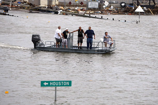 hurricane ike natural disaster texas