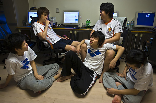 Video Games Korea Korean Video gamers