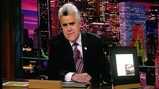 Tonight Show with Jay Leno, Los Angeles, California