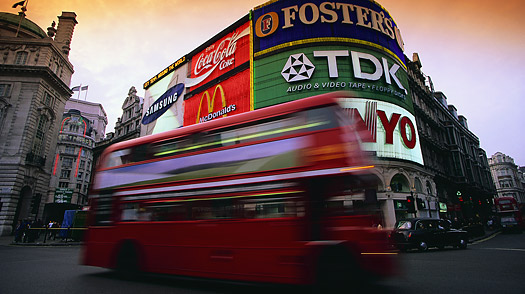 london great britain england united kingdom uk Piccadilly circus Westminster