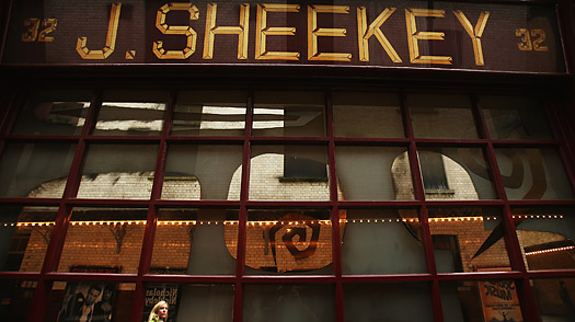 London J. Sheekey restaurant in SOHO