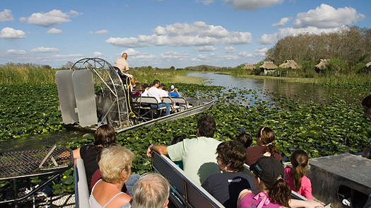 florida side trips The Seminole Reservation at Big Cypress Billie Swamp Safari