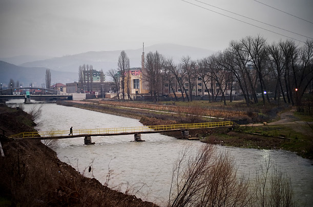 Mitrovica is home to a significant number of Serbs and Albanians. The Serbs are clustered in the northern part of town, the Albanians in the south, with the River Ibar separating the two enclaves.