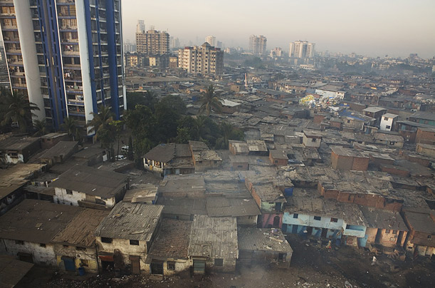 Rebuilding Mumbai  adam ferguson india bombay slum poverty economy